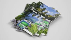 Stack of Kemsol Green brochures